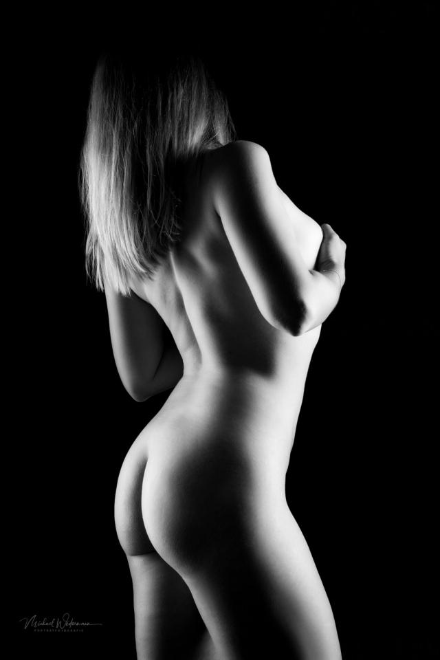Akt,Erotic,sw Bild